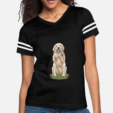 Europe Funny Dog fetching skeleton hand gift - Women's Vintage Sport T-Shirt
