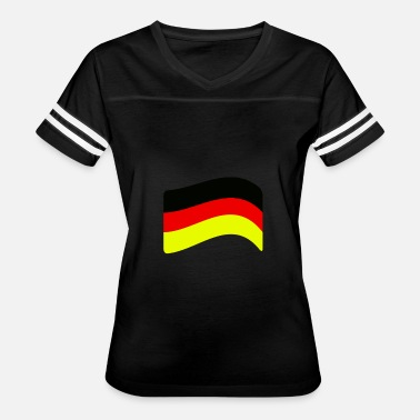 Flag Of Germany (Germany flag) - Women's Vintage Sport T-Shirt