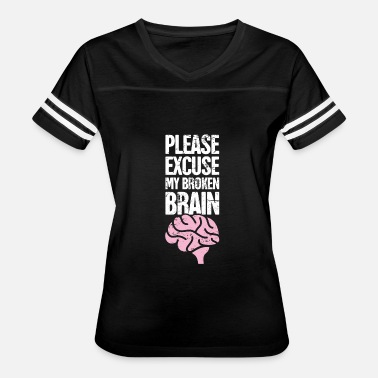 Brain Surgery Brain Surgery - Funny Get Well Recovery Gift - Women's Vintage Sport T-Shirt