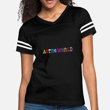 Save The Planet Astroworld Save World Save Planet - Women's Vintage Sport T-Shirt
