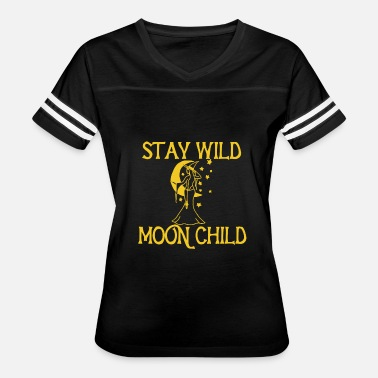 Moon Child Stay Wild Moon Child - Women's Vintage Sport T-Shirt