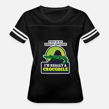 Funny Reptiles Crocodile Reptile Funny Gift - Women's Vintage Sport T-Shirt