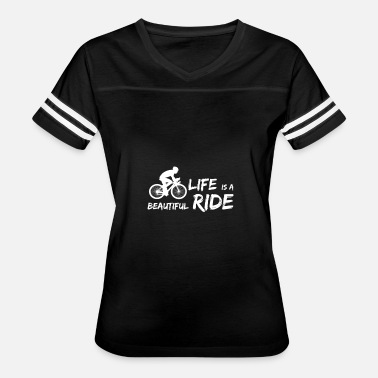 Bike Life Bicycle Shirt - Cycling - Bike - Life is beautiful - Women's Vintage Sport T-Shirt