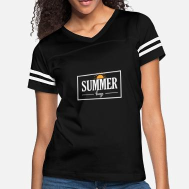 Breeze Summer Breeze - Women's Vintage Sport T-Shirt