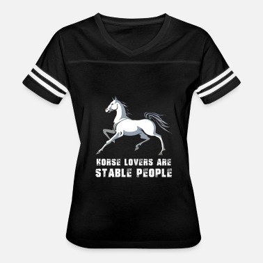 Funny Novelty Gift For Horse Rider - Women's Vintage Sport T-Shirt