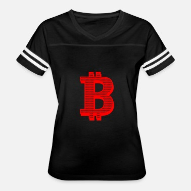 Red Dollar Sign GIFT - BITCOIN RED - Women's Vintage Sport T-Shirt