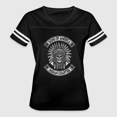 American Indian Wife Proud Native American - Women's Vintage Sport T-Shirt
