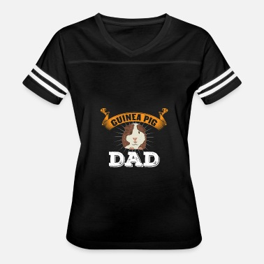 Hamster Daddy Funny Guinea Pig Hamster Cavy Dad Father Gift - Women's Vintage Sport T-Shirt