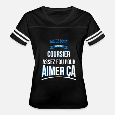 Courier Courier gifted crazy gift man - Women's Vintage Sport T-Shirt