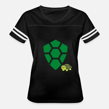 Turtle Coin Turtle Coin With Small Turtle - Women's Vintage Sport T-Shirt