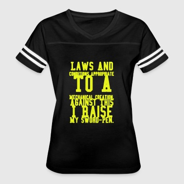 The Perfect Creation Laws To A Mechanical Creation T-shirt - Women's Vintage Sport T-Shirt