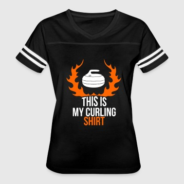 Curling - this is my curling - funny curling - Women's Vintage Sport T-Shirt