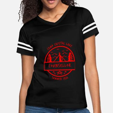 Lake Camp Crystal Lake Counsellor - Women's Vintage Sport T-Shirt