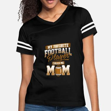c368301a4722 Football Mom American Football Player Mom Gift - Women's Vintage Sport T.  Women's Vintage Sport T-Shirt