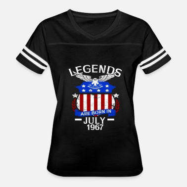 July 1967 Legends Are Born In July 1967 - Women's Vintage Sport T-Shirt