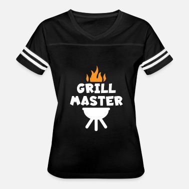 Master Of Grill BBQ Grilling Grill Master - Women's Vintage Sport T-Shirt
