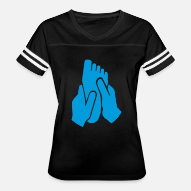 Massage Jokes Foot Massage Funny - Women's Vintage Sport T-Shirt