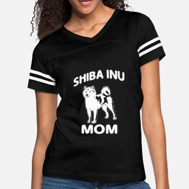 9efa5d1f6 Birthday Funny Dog Dog - shiba inu mom - funny for dog lovers - Women&#.  Women's Vintage Sport ...
