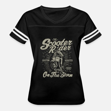 Crotch Rocket Motorcycle - scooter rider retro vintage distress - Women's Vintage Sport T-Shirt
