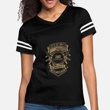 2nd Amendment 2nd Amendment T-shirt - Women's Vintage Sport T-Shirt