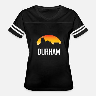 Durham Nc Durham North Carolina Sunset Skyline - Women's Vintage Sport T-Shirt