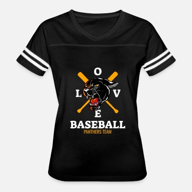 Panther Baseball Love Baseball Panthers Team - Women's Vintage Sport T-Shirt