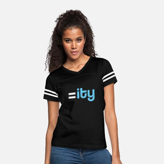 Equality T-Shirts - Equality - Women's Vintage Sport T-Shirt black/white