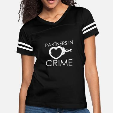 Crime Partner In Crime - Women's Vintage Sport T-Shirt