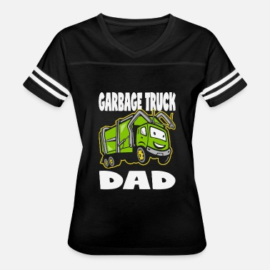 Garbage - garbage truck dad vintage father monst - Women's Vintage Sport T-Shirt