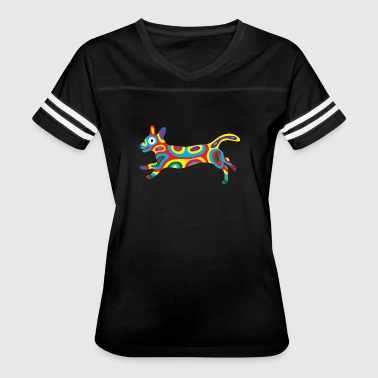 Rainbow Dog 3 - Women's Vintage Sport T-Shirt