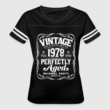 Vintage Made In 1978 Birthday Gift T Shirts - Women's Vintage Sport T-Shirt