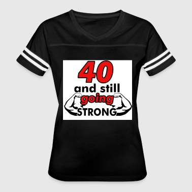 Birthday Design 40th birthday design - Women's Vintage Sport T-Shirt