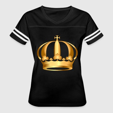 Gold King Crown gold-crown-king - Women's Vintage Sport T-Shirt