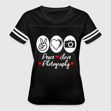 Photography - peace love photography - Women's Vintage Sport T-Shirt