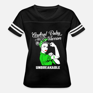 Cerebral Palsy Cerebral Palsy Warrior Unbreakable - Women's Vintage Sport T-Shirt