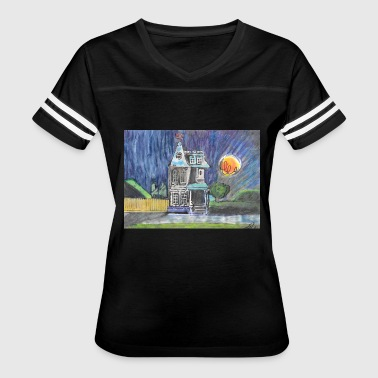THE PINWHEEL HOUSE - Women's Vintage Sport T-Shirt