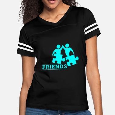 a4bb981d Friendship Design PuzzleFriends | Friendship Gift Gift Idea - Women's  Vintage Sport. Women's Vintage Sport T-Shirt