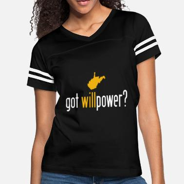 0f222007 Wvu Football West Virginia Got Willpower - Women's Vintage Sport T-