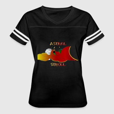 Astral Projection ASTRAL STROLL - Women's Vintage Sport T-Shirt