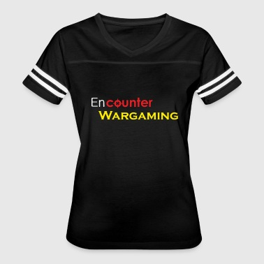 Wargame Classic Encounter Wargaming Logo - Women's Vintage Sport T-Shirt