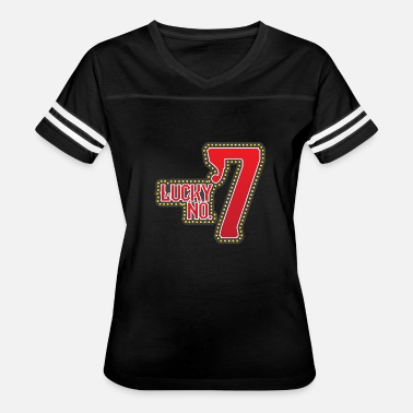 Lotto Lucky number 7 keno lotto casino las vegas slots - Women's Vintage Sport T-Shirt