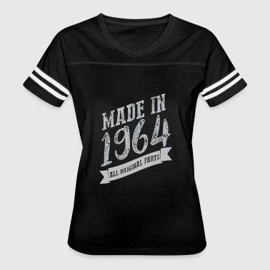 VT218_ Made in 1964 all o - Women's Vintage Sport T-Shirt