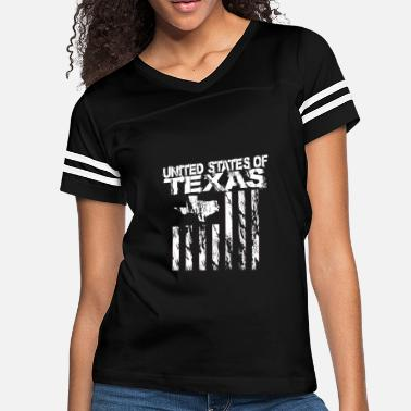 ec288a21f Texas-born-and-raised United States of Texas Texas Born and Raised -.  Women's Vintage Sport T-Shirt