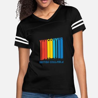 dce937a7 Vancouver Retro Vancouver Canada Skyline - Women's Vintage Sport T-Shirt