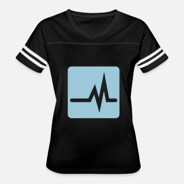 Heartbeat Wave Heartbeat or Equalizer wave - Women's Vintage Sport T-Shirt