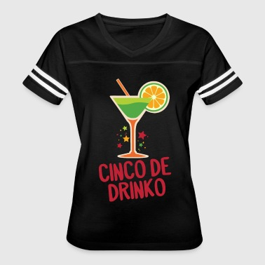 Cinco De Drinko - Cinco De Mayo - Margarita - Women's Vintage Sport T-Shirt