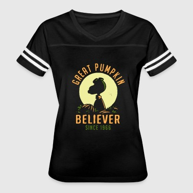 Snoopy Pumpkin Great pumpkin - Believer since 1966 - Snoopy - Women's Vintage Sport T-Shirt