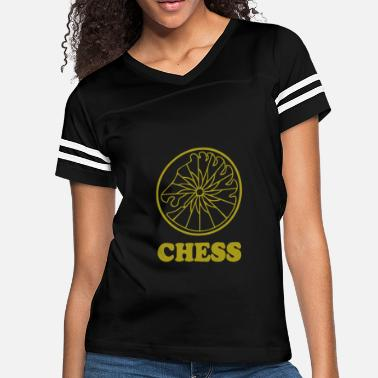 Chess RECORD - Women's Vintage Sport T-Shirt