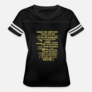 Mistake Clothing Mistake This Is The USA 2nd Amendment Shirt - Women's Vintage Sport T-Shirt