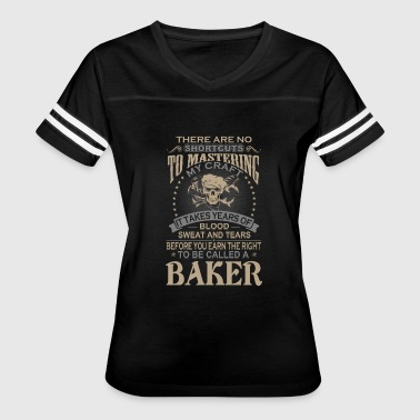 Josephine Baker Baker - There are no shortcuts to mastering mine - Women's Vintage Sport T-Shirt